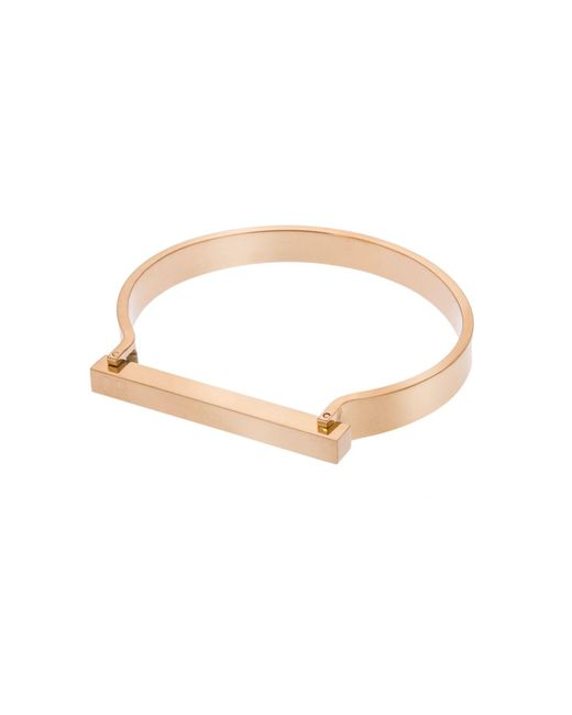 Opes Robur - Metallic Gold Omega Cuff - Lyst