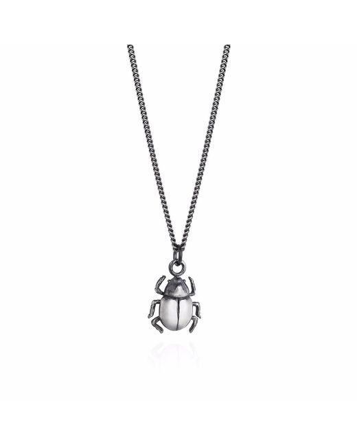 Yasmin Everley Jewellery - Metallic Little Rhino Beetle Necklace - Lyst