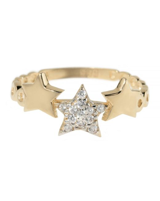 Talia Naomi   Metallic Wish Upon A Shooting Star Ring   Lyst