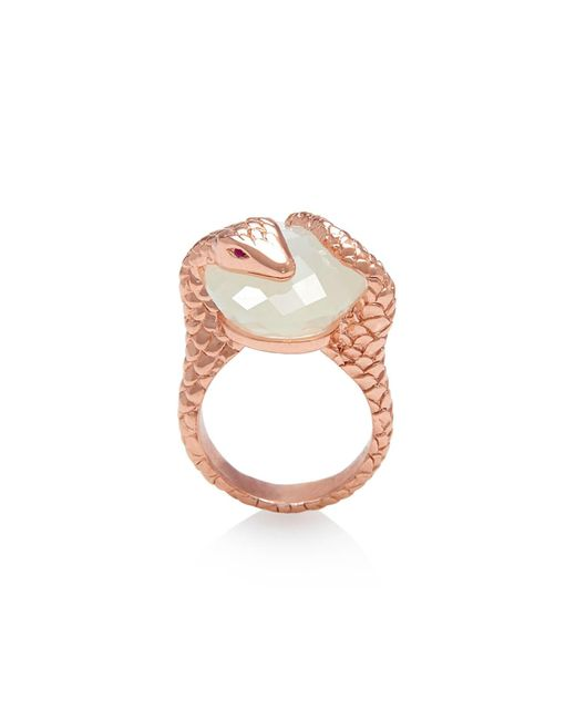 Alexandra Alberta - Multicolor Gaia Moonstone Ring - Lyst
