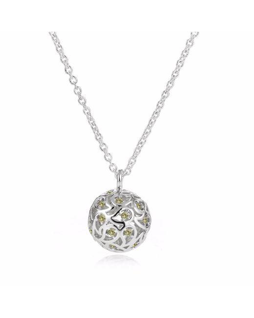 Sonal Bhaskaran | Metallic Svar Silver Necklace Yellow Cz | Lyst