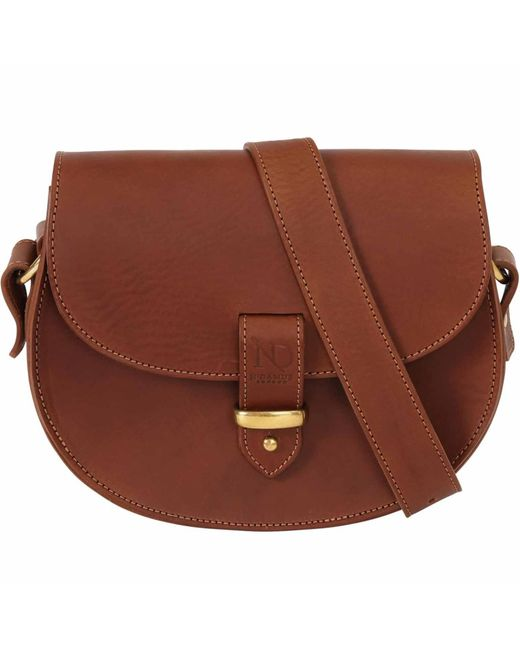 N'damus London | Brown Victoria Tan Cross Body Bag | Lyst