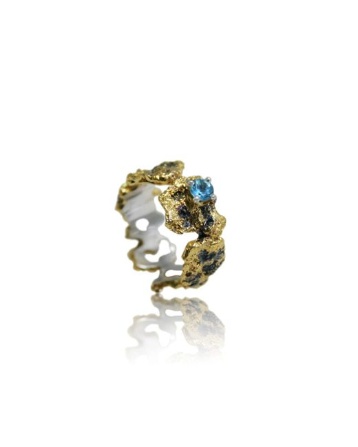 Karolina Bik Jewellery - Metallic Out Of The Sea Ring - Lyst