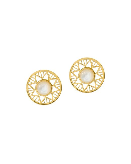 Alexandra Alberta - Metallic Chelsea Earrings - Lyst