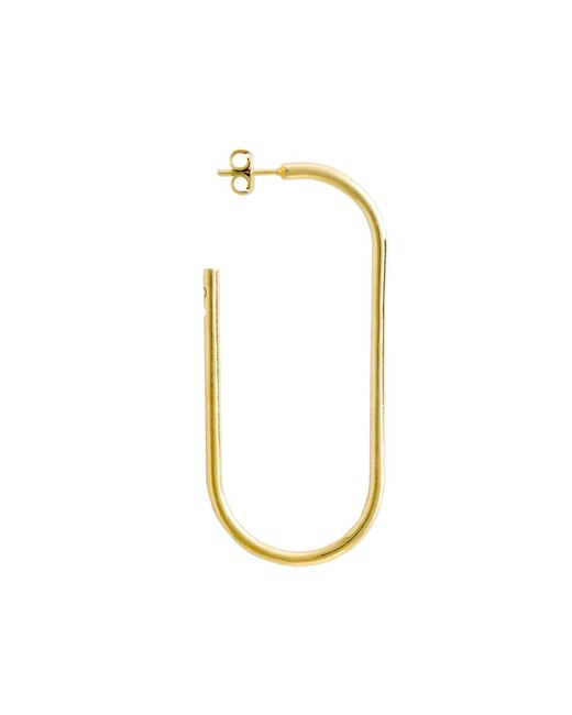 Glenda López - Metallic The Xxl Golden Link Earring - Lyst