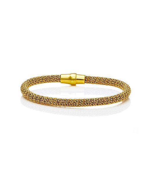 Durrah Jewelry | Metallic Gold Spring Bracelet | Lyst