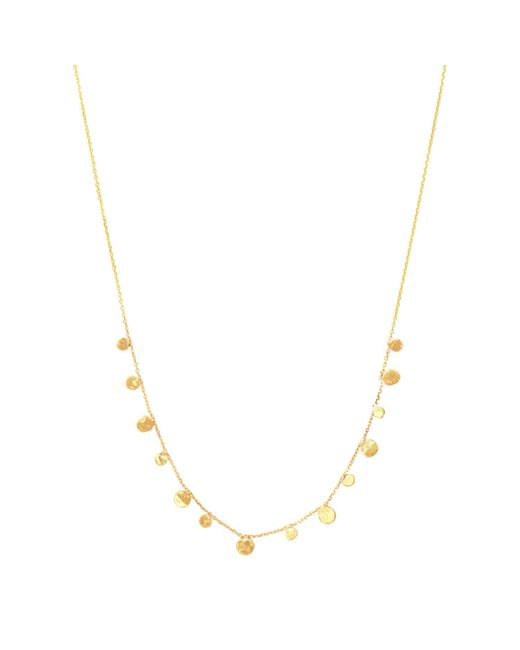 Lily Flo Jewellery - Metallic Stardust Scattered Stars Demi Solid Gold Necklace - Lyst