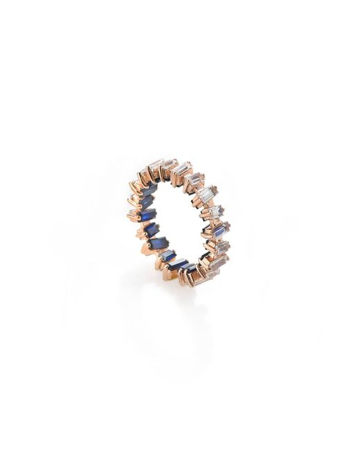 Myriamsos | Metallic The Skyline Collection Coloured Eternity Ring | Lyst
