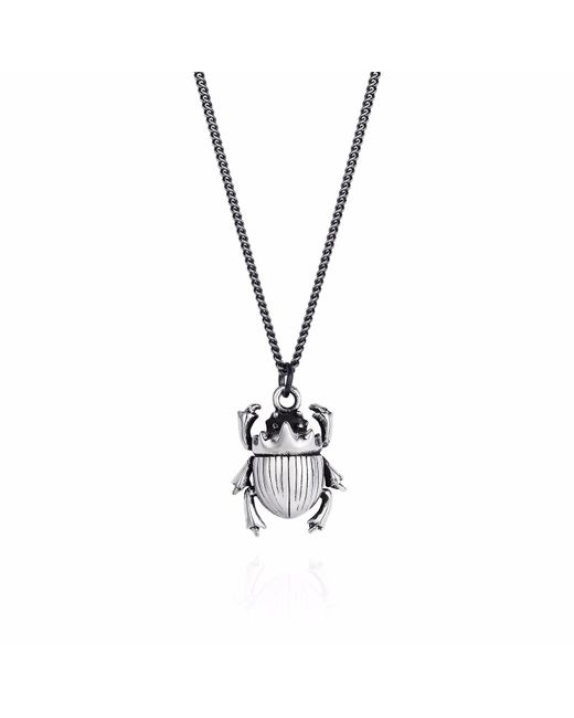 Yasmin Everley Jewellery - Metallic Little Scarab Pendant - Lyst