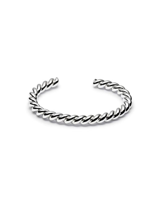 Isabel Lennse - Metallic Thick Twisted Cuff - Lyst