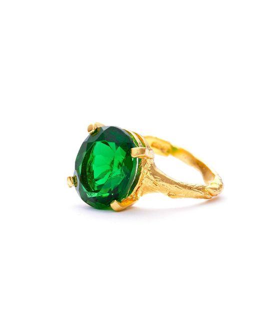 Chupi | Metallic Drop In The Wild Emerald Quartz & Gold | Lyst
