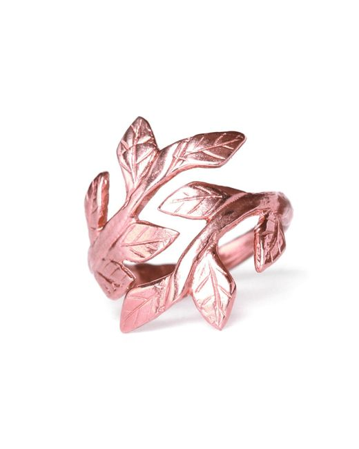 Chupi | Multicolor Wrap Your Laurels Around Me Ring In Rose Gold | Lyst