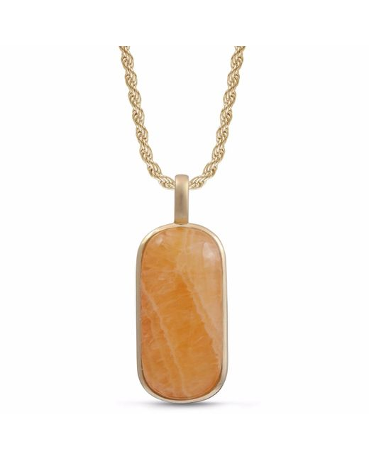 LMJ - Multicolor Yellow Lace Agate Tag for Men - Lyst