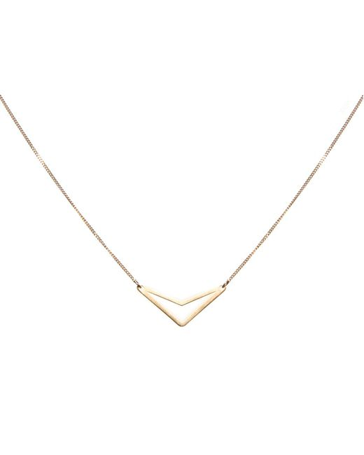 Dutch Basics | Metallic Tui Necklace Gold | Lyst