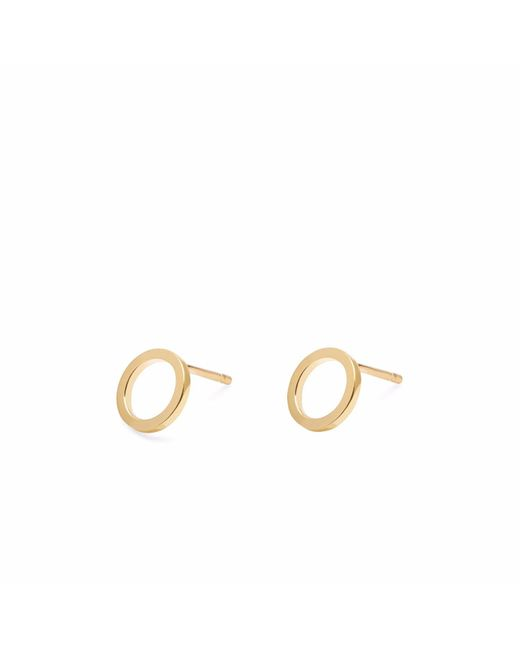 Myia Bonner - Metallic Gold Mini Circle Stud Earrings - Lyst