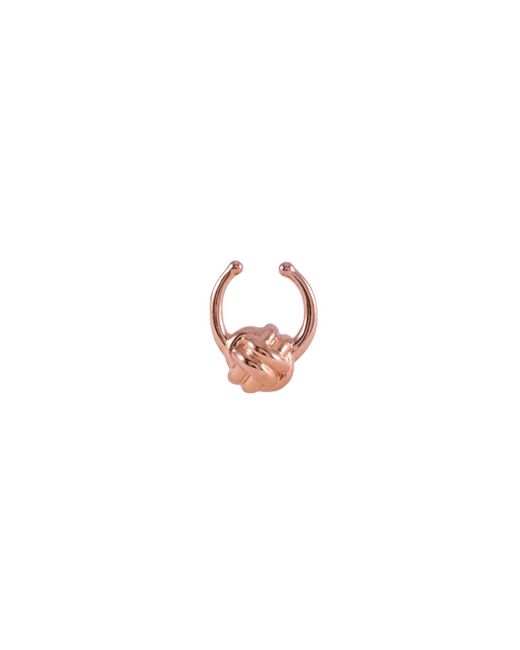 MARIE JUNETM Jewelry - Multicolor Monkey Paw Knot Rose Gold Septum Ring - Lyst