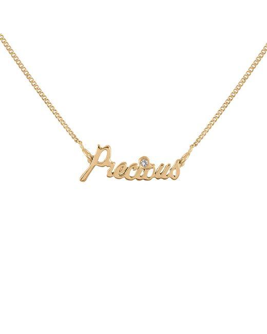 Lee Renee | Metallic Precious Necklace Diamond & Gold Vermeil | Lyst