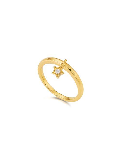 Kasané | Metallic Yellow Star Charm Ring | Lyst