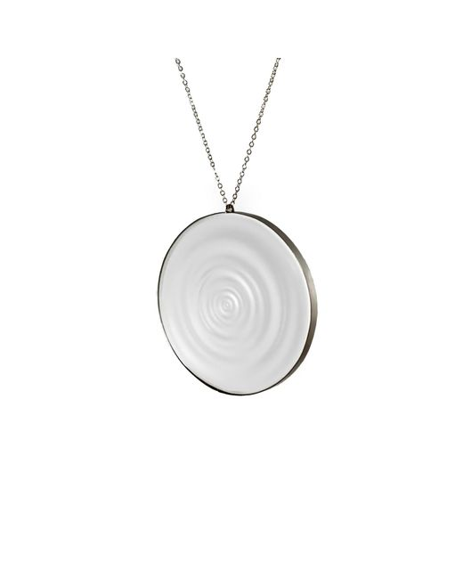 MARIE JUNETM Jewelry - Multicolor Full Ripples Clear Pendant - Lyst