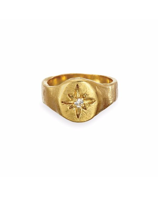 Chupi | Metallic Your North Star Ring In Gold | Lyst