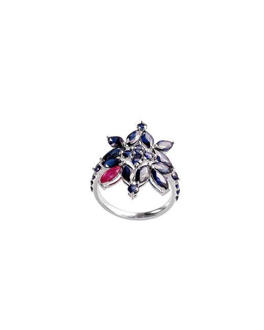 Joana Salazar   Blue Blossom Ring   Lyst