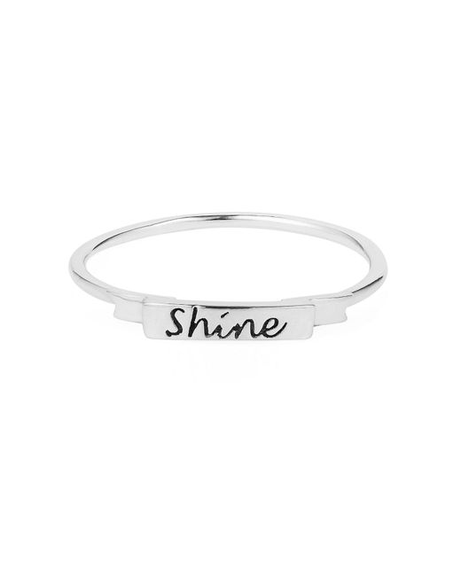 Lee Renee - Multicolor Tiny Star Ring White Sapphire & Silver - Lyst