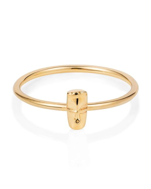 Lee Renee | Metallic Tiny Voodoo Damballah Ring Gold | Lyst