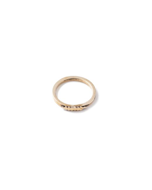 Thacker NYC | Metallic Thacker X Flaca Arrow Ring Brass | Lyst