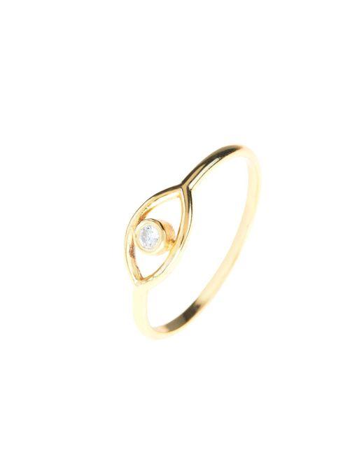 Latelita London | Metallic Cosmic Mystic Eye Ring Gold | Lyst