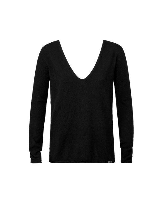 Vyayama | Black Seamless Cashmere Sweater | Lyst