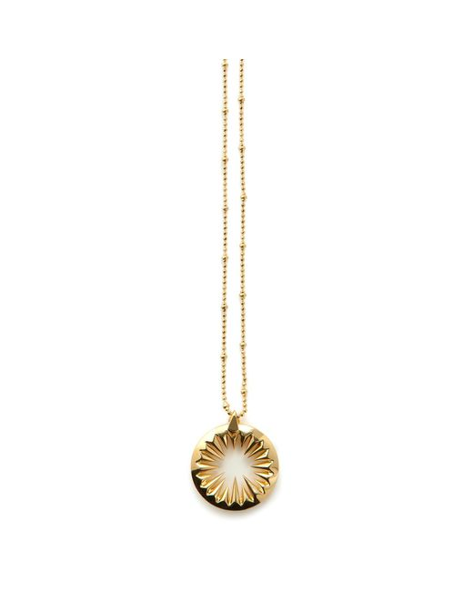 Kasun | Metallic Midnight Sun Pendant Gold | Lyst