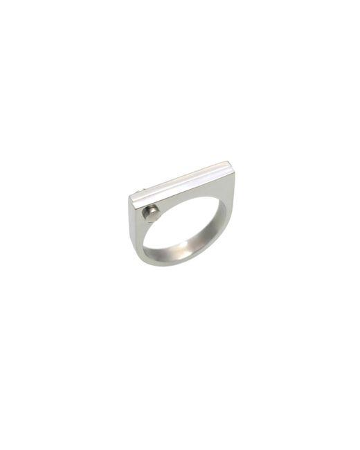 Opes Robur | Metallic Silver D Ring | Lyst