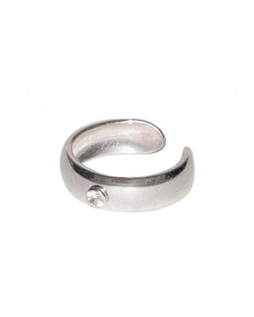 Dutch Basics - Metallic Ear Cuff Stone - Lyst
