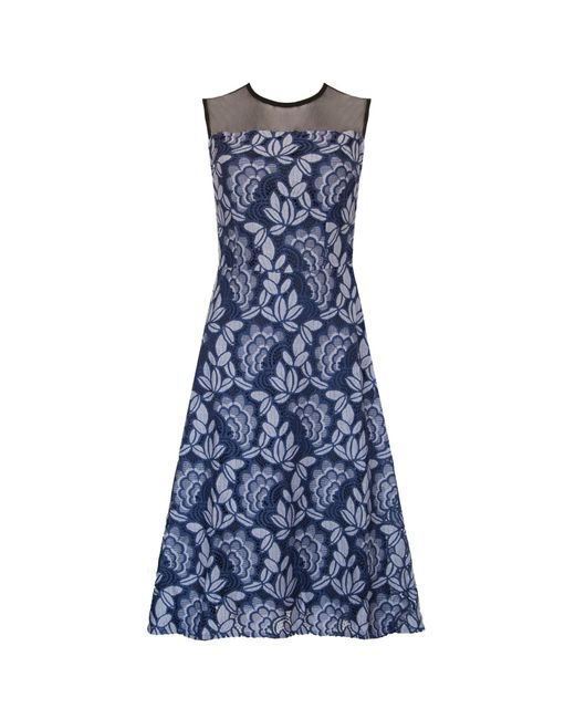 Ukulele - Blue Rose Dress - Lyst