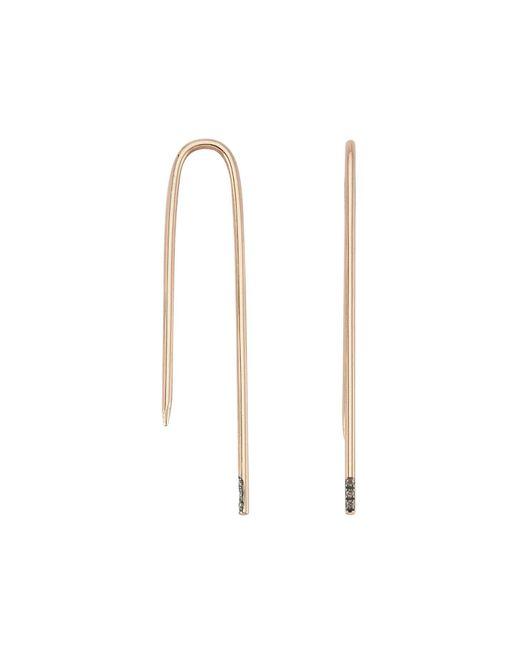 Jezebel London - Metallic Charlotte Hook Earring - Lyst