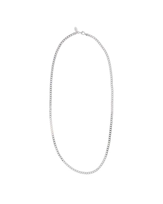 Edge Only | Metallic Heavy Curb Chain Mens Silver for Men | Lyst