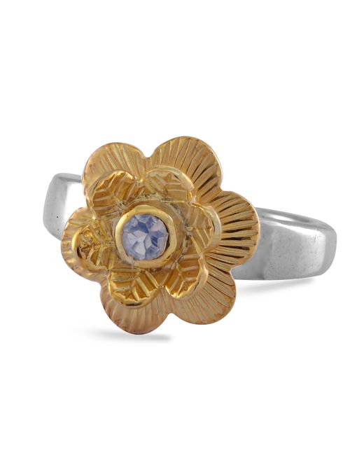 Emma Chapman Jewels | White Gypsy Rose Moonstone Ring | Lyst