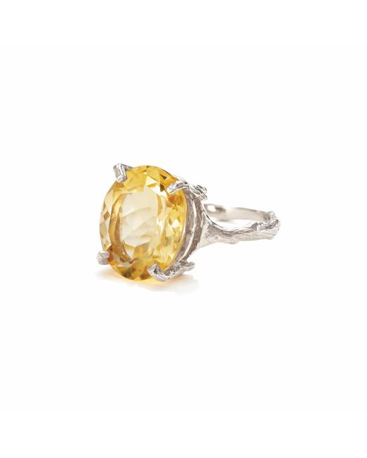 Chupi - Metallic Drop In The Wild In Citrine & Silver - Lyst