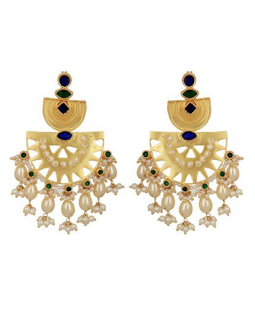 Carousel Jewels - Metallic Statement Heritage Earrings - Lyst