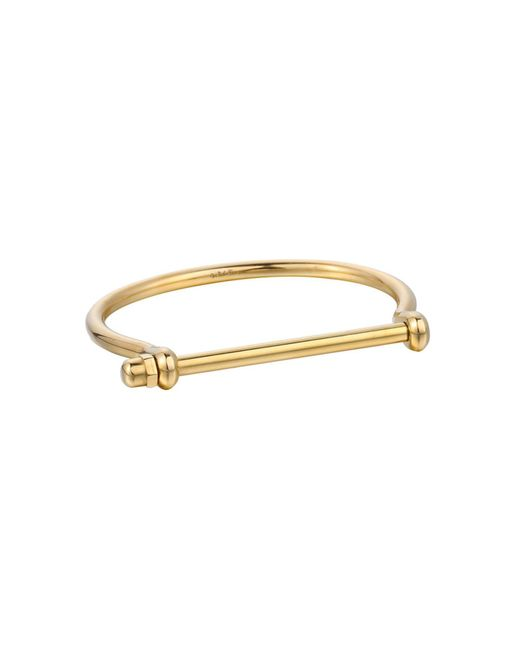 Opes Robur | Metallic All Gold Cuff Bracelet | Lyst