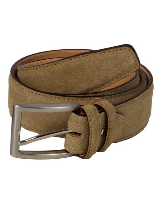 40 Colori - Brown Beige Trento Leather Belt for Men - Lyst
