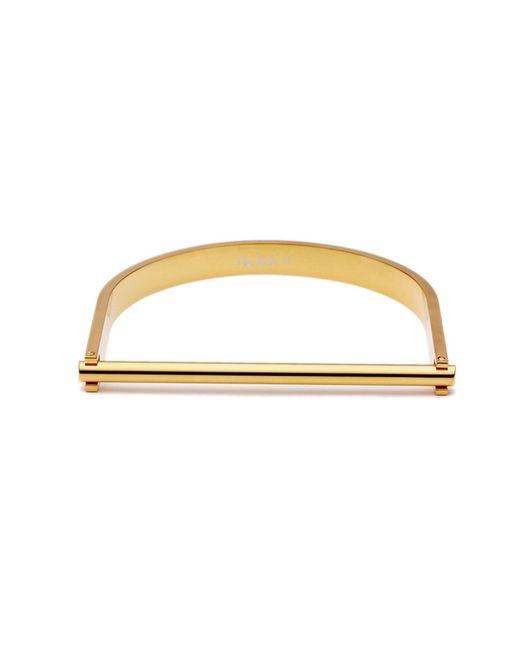 Opes Robur - Metallic Gold U Cuff Bracelet - Lyst