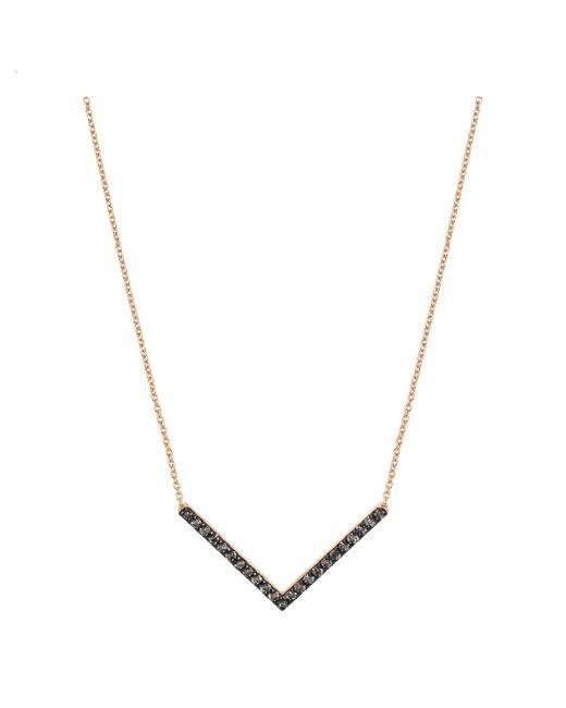Jezebel London - Metallic Victoria Necklace - Lyst