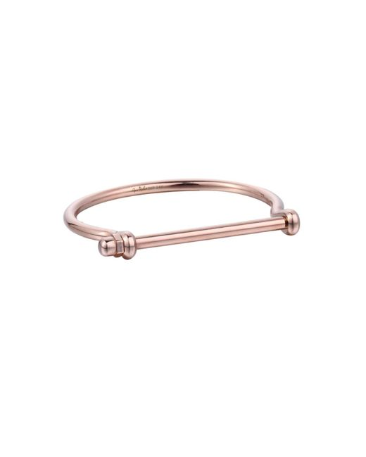 Opes Robur - Metallic All Rose Gold Bracelet - Lyst