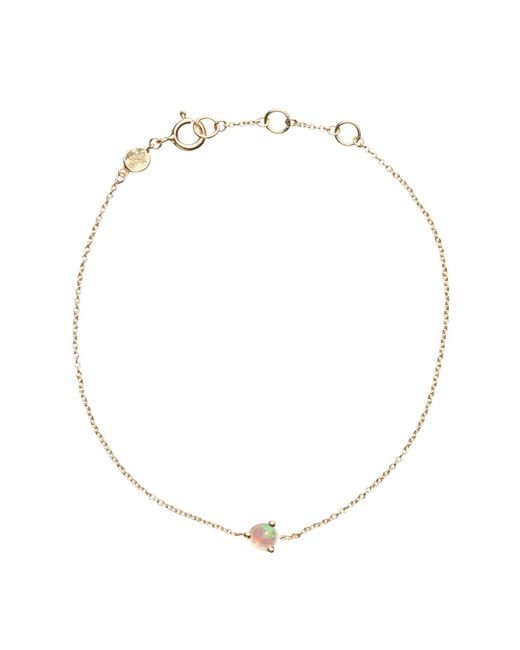 Aletheia & Phos | Metallic Cor Luna Bracelet Opal | Lyst