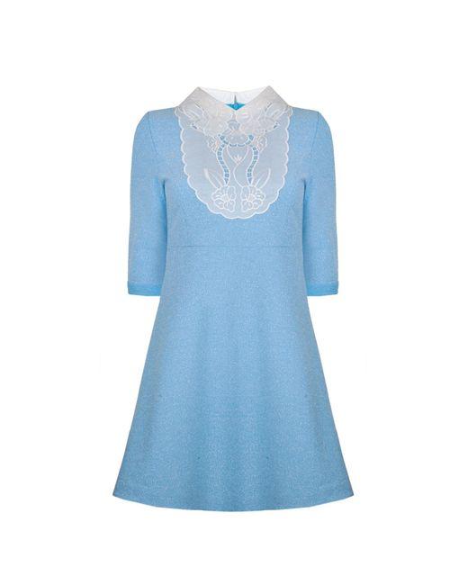 Ukulele - Blue Violetta Dress - Lyst