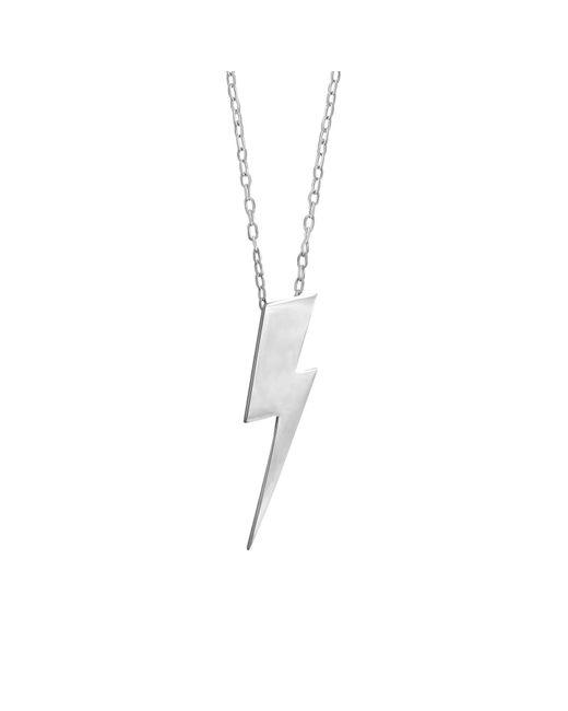 Edge Only - Metallic Spike Mesh Necklace - Lyst
