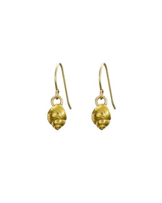 Chupi - Metallic Wish Upon A Star Stud Earrings In Gold - Lyst