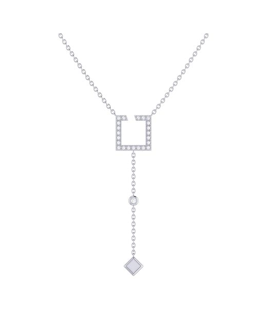 LMJ - Metallic Street Light Lariat Necklace In Sterling Silver - Lyst