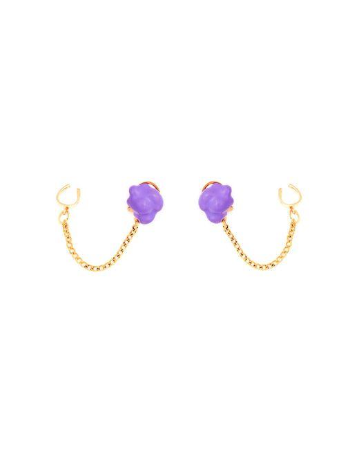 Glenda López - Purple The Lilac Popcorn Earrings - Lyst